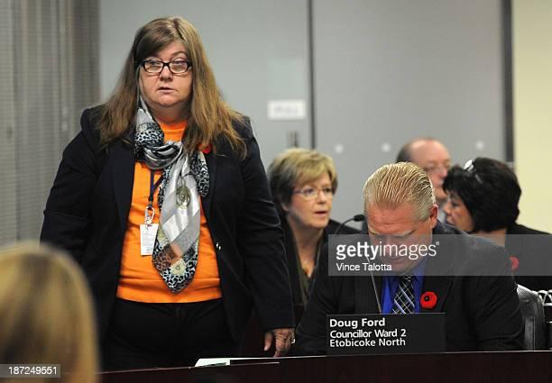 Sheila Paxton Senior Policy Advisor at City Hall the day after Mayor Rob Ford admits to smoking crack Toronto November 6 2013