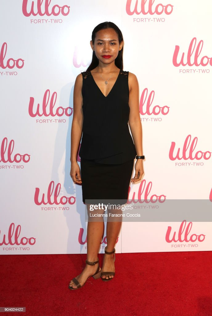 Sheila Sarasmita attends Ulloo 42 Launch Party on January 11, 2018 in Los Angeles, California.