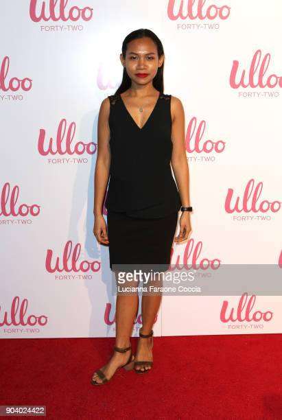 Sheila Sarasmita attends Ulloo 42 Launch Party on January 11 2018 in Los Angeles California