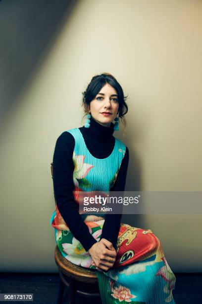 Sheila Vand from the film 'We The Animals' poses for a portrait at the YouTube x Getty Images Portrait Studio at 2018 Sundance Film Festival on...