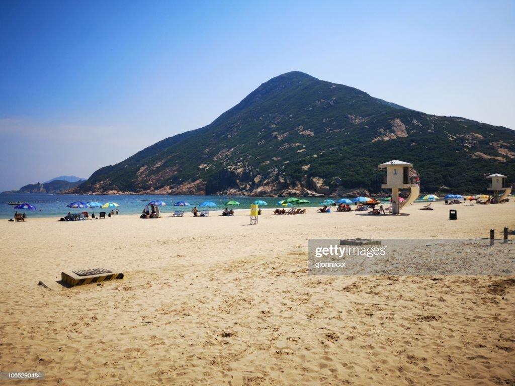 Shek O beach, Hong Kong island : Stock Photo