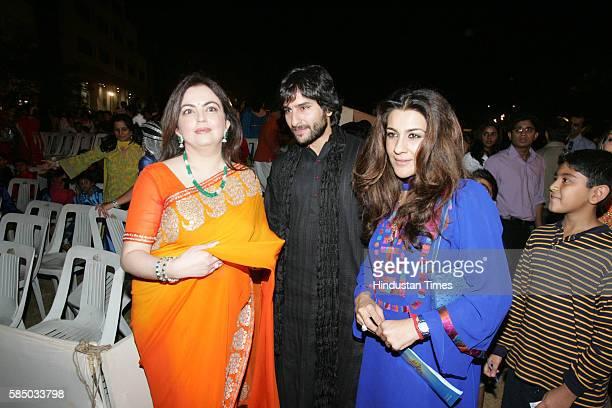 Shekhar Kapur Nita Ambani Shekhar Kapoor and Saif Ali Khan with Amrita Singh