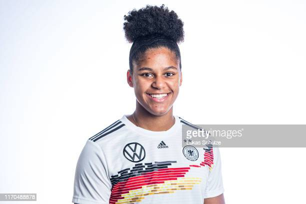 Shekiera Martinez poses on August 27 2019 in Tilburg Netherlands
