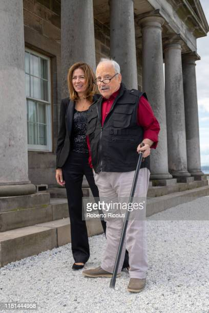 Shelagh McLeod and Richard Dreyfuss attend a photocall for the World Premiere of 'Astronaut' during the 73rd Edinburgh International Film Festival at...