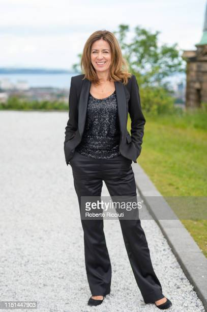Shelagh McLeod attends a photocall for the World Premiere of 'Astronaut' during the 73rd Edinburgh International Film Festival at The City...