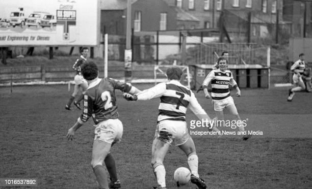 Shelbourne FC Vs Cork FC League of Ireland match in Harolds Cross, .