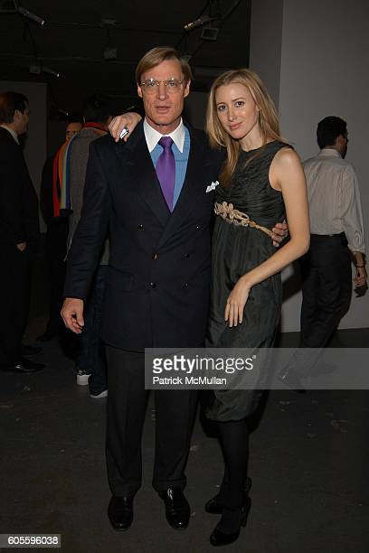 Shelby Bryan and Alexis Bryan attend Mario Testino Out Of Fashion at Phillips de Pury Company on February 2 2006 in New York City