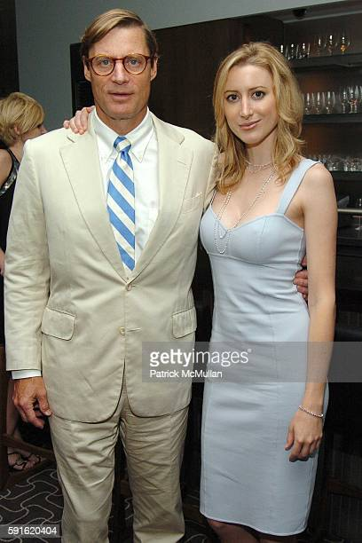 Shelby Bryan and Alexis Bryan attend VOGUE and AERIN LAUDER host a party for MICHAEL KORS at JeanGeorge in the West Village on June 9 2005 in New...