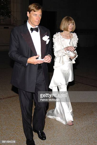 Shelby Bryan and Anna Wintour attend The Metropolitan Museum of Art Costume Institute Spring 2005 Benefit Gala celebrating the exhibition Chanel at...