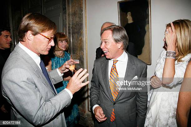 Shelby Bryan Anna Wintour Leonard Lauder Tommy Hilfiger and Dee Ocleppo attend Cocktail Reception in Honor of TOMMY HILFIGER and DEE OCLEPPO'S...