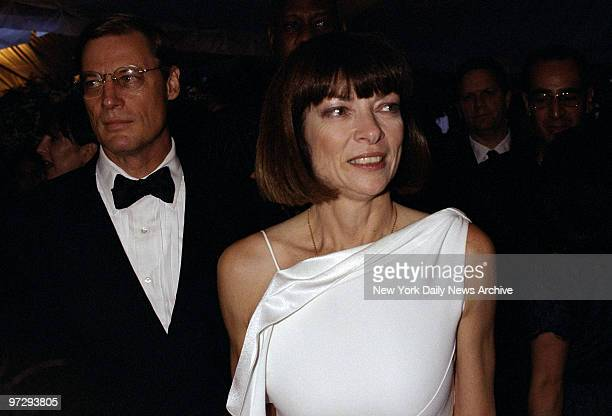 Shelby Bryant and Anna Wintour are on hand at Avery Fisher Hall for the Council of Fashion Designers of America's Fashion Awards.