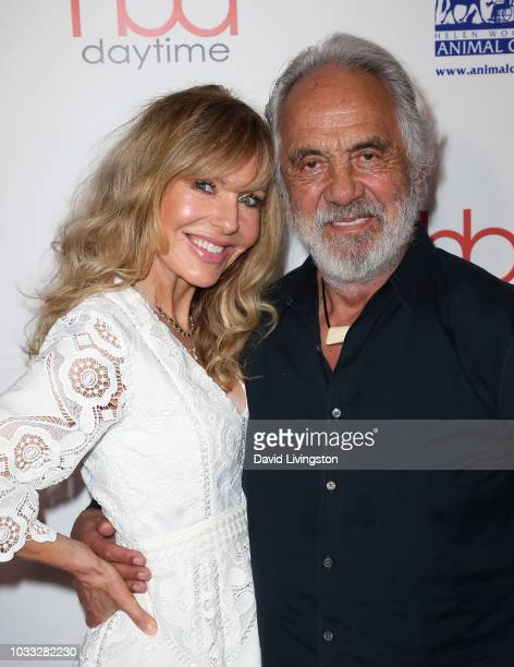 Shelby Chong and Tommy Chong attend the 2018 Daytime Hollywood Beauty Awards at Avalon on September 14 2018 in Hollywood California