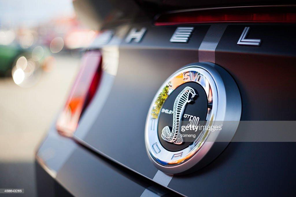 Shelby GT500 Rear Badging