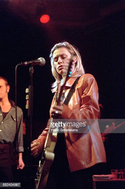 Shelby Lynne, guitar and vocals, performs on March 27th 2000 in Amsterdam, Netherlands.