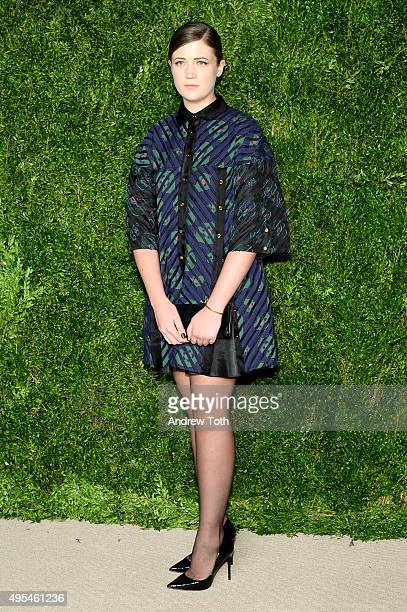 Shelby Petra attends the 12th annual CFDA/Vogue Fashion Fund Awards at Spring Studios on November 2, 2015 in New York City.