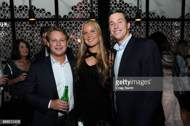 Shelby Rogers attends Citi Taste Of Tennis with Coco Vandeweghe and friends at Hakkasan Restaurant New York on August 25 2017 in New York City