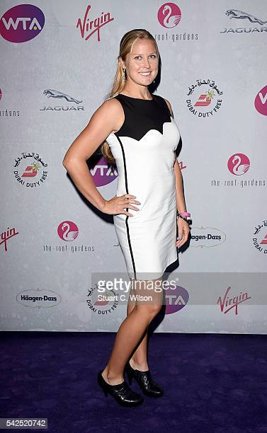 Shelby Rogers attends the annual WTA PreWimbledon Party presented by Dubai Duty Free at the Kensington Roof Gardens on June 23 2016 in London England