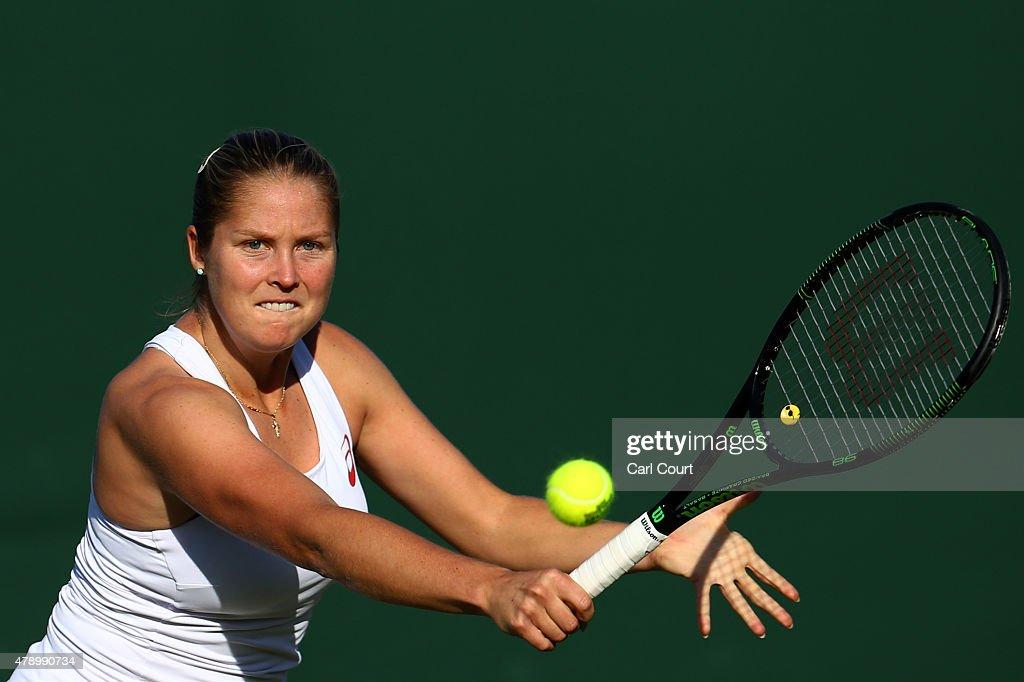 Day One: The Championships - Wimbledon 2015 : Foto jornalística