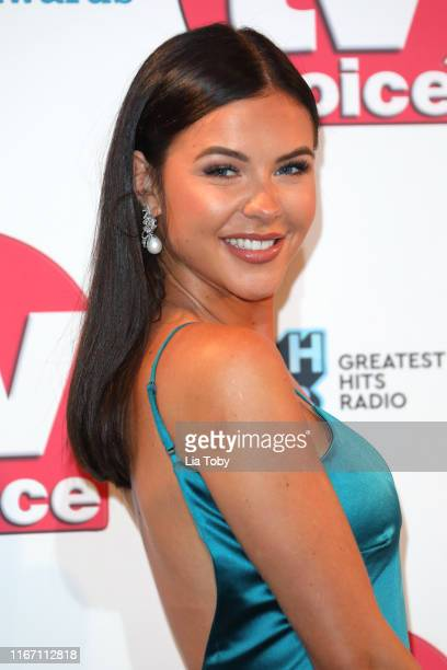 Shelby Tribble attends The TV Choice Awards 2019 at Hilton Park Lane on September 9 2019 in London England