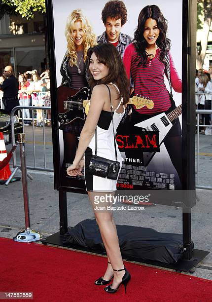 Shelby Young arrives at the Los Angeles premiere of 'Bandslam' at the Mann Village Theatre on August 6 2009 in Westwood Los Angeles California