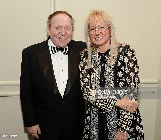 Sheldon Adelson and Dr Miriam Adelson attend the John Wayne Cancer Institute Auxiliary's 29th Annual Odyssey Ball at Regent Beverly Wilshire Hotel on...