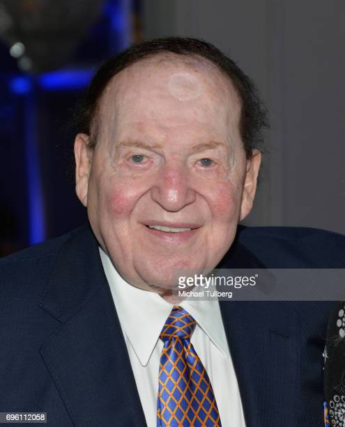 Sheldon Adelson attends the American Society for Yad Vashem and the Jewish Life Foundation's Salute To Hollywood Gala at the Beverly Wilshire Four...