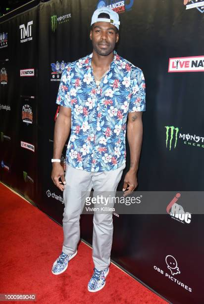 Sheldon Bailey attends 50K Charity Challenge Celebrity Basketball Game at UCLA's Pauley Pavilion on July 17 2018 in Westwood California