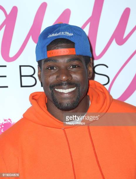 Sheldon Bailey attends the 2018 Beauty The Beats Celebrity Party and Panel Discussion at Dream Magic Studios on February 15 2018 in Canoga Park...