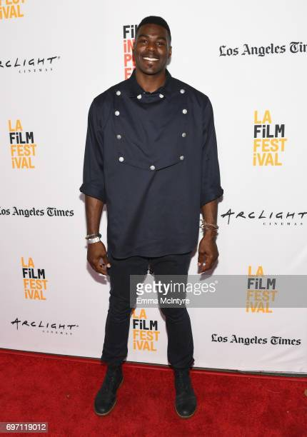 Sheldon Bailey attends the Izzy Gets The Fuck Across Town and Ok Call Me Back Premieres during the 2017 Los Angeles Film Festival at Arclight Cinemas...