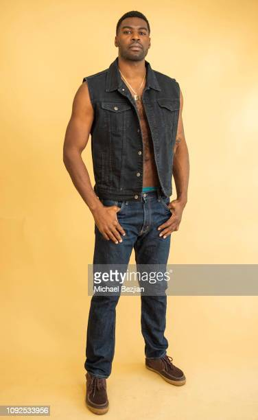 Sheldon Bailey poses for portrait at Giveback Day at TAP The Artists Project on January 10 2019 in Los Angeles California