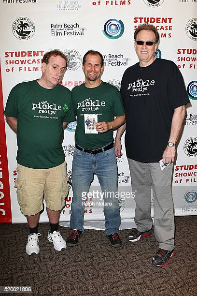 Sheldon Cohn Michael Manasseri and Gary Wolfson attend Palm Beach International Film Festival 2016 Filmmakers Meet And Greet on April 7 2016 in...