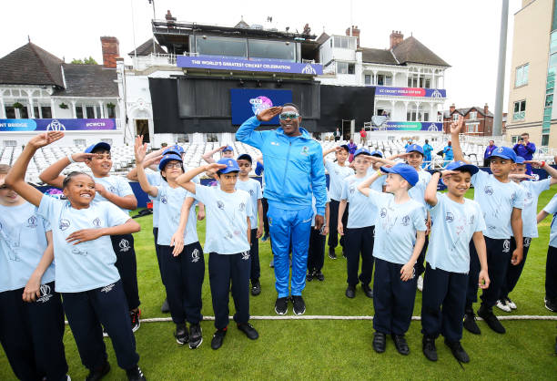 GBR: Cricket 4 Good Clinic: West Indies - ICC Cricket World Cup 2019