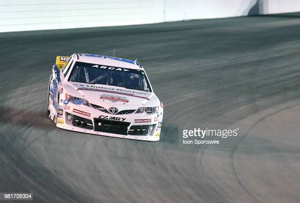 Sheldon Creed of Alpine CA driving a Toyota for United Rentals during the ARCA Racing Series PapaNicholas Coffee 150 on June 22 at Gateway...