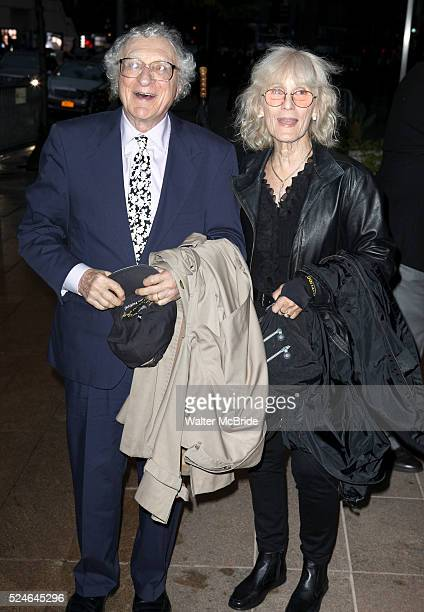 Sheldon Harnick wife Margery Gray attending the Memorial To Honor Marvin Hamlisch at the Peter Jay Sharp Theater in New York City on 9/18/2012