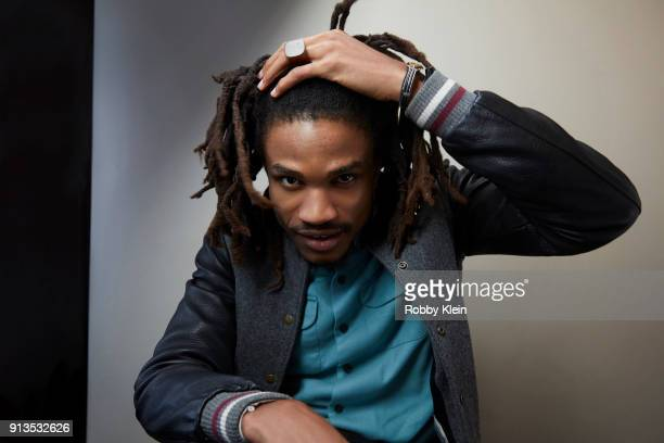 Sheldon Shepherd from the film 'Yardie' pose for a portrait in the YouTube x Getty Images Portrait Studio at 2018 Sundance Film Festival on January...