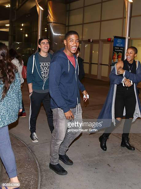 Sheldon Smith is seen on January 17 2016 in Los Angeles California