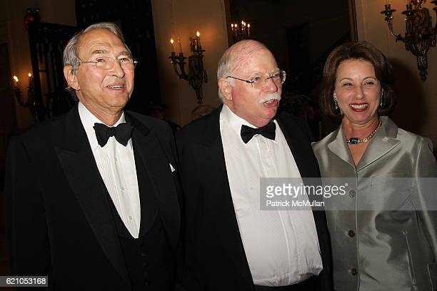 Sheldon Solow Michael Steinhardt and Judy Steinhardt attend Institute of Fine Arts 75th Anniversary Dinner Honoring Shedon H Solow at Institute of...
