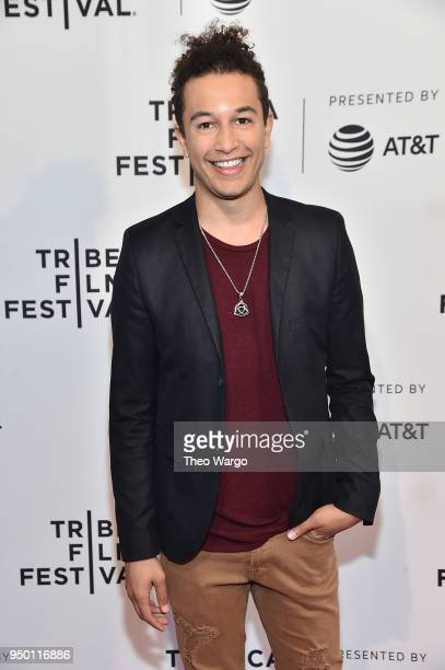 Sheldon White attends a screening of All About Nina during the 2018 Tribeca Film Festival at SVA Theatre on April 22 2018 in New York City