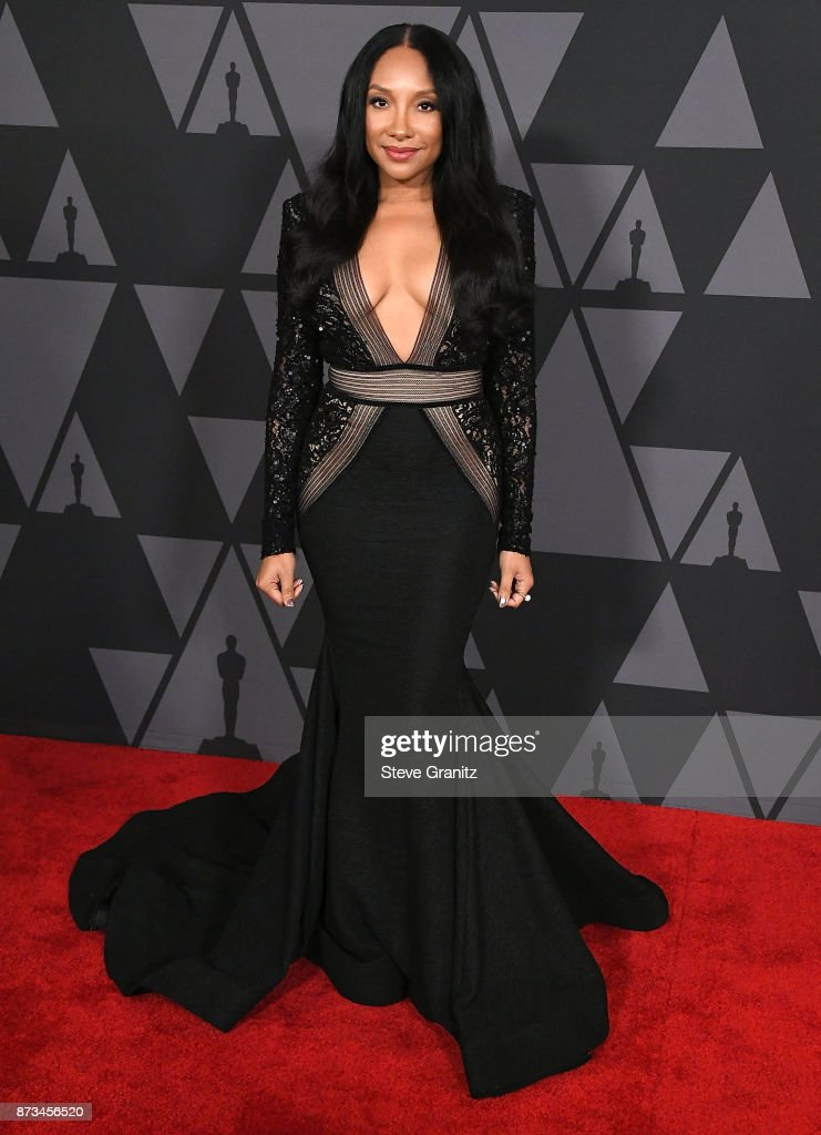 Shelea arrives at the Academy Of Motion Picture Arts And Sciences' 9th Annual Governors Awards at The Ray Dolby Ballroom at Hollywood & Highland Center on November 11, 2017 in Hollywood, California.