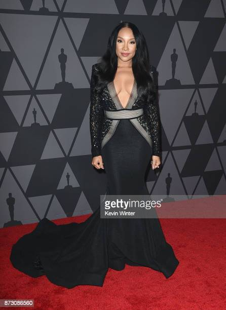 Shelea attends the Academy of Motion Picture Arts and Sciences' 9th Annual Governors Awards at The Ray Dolby Ballroom at Hollywood Highland Center on...