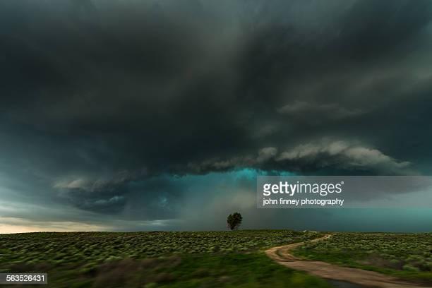 Shelf cloud storm, Lamar, Colorado