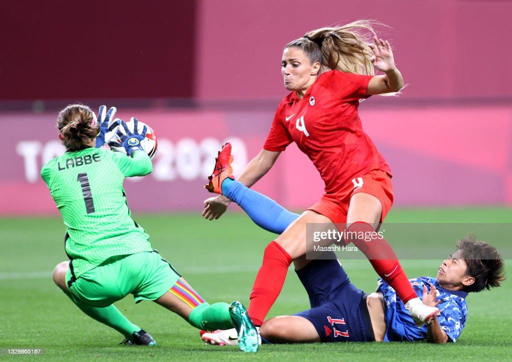 Japan v Canada: Women's Football - Olympics: Day -2 : News Photo