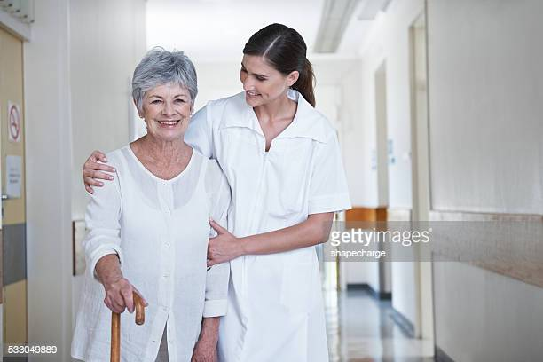 she'll always be by her side - nursing assistant stock pictures, royalty-free photos & images