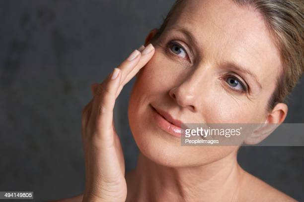 she'll be beautiful forever - pretty older women stock pictures, royalty-free photos & images
