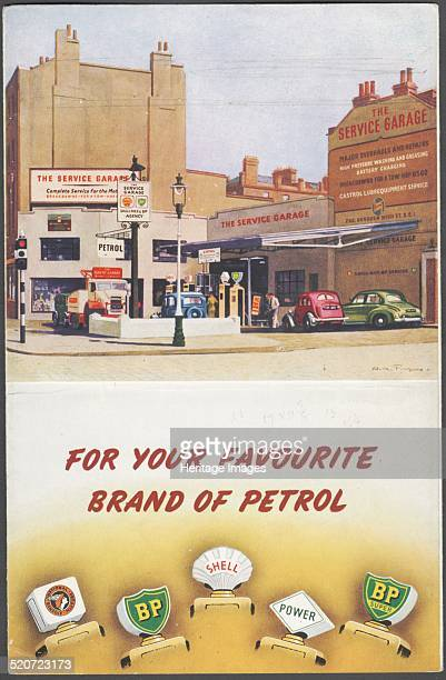 Shell BP National Benzole 1950s