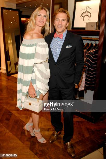 Shell Cardon and Craig Cardon attend Brooks Brothers and Social Primer Bow Tie Launch at Brooks Brothers on June 2 2010 in Beverly Hills California