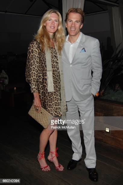 Shell Cardon and Craig Cardon attend GILT GROUPE LA Cocktail Party at Thompson Hotel Rooftop Bar on June 18 2009 in Beverly Hills California