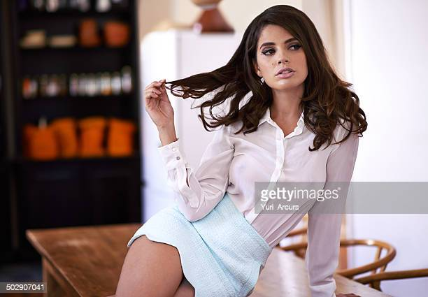 she'll flirt her way right into your heart - beauty photos stock photos and pictures