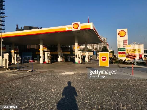 Shell Tankstelle in Yenibosna Bezirk