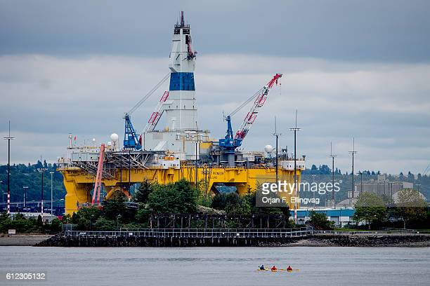 Shell has halted the controversial oil drilling in the Chukchi sea citing the marginal discovery of oil was not enough to continue the search for the...